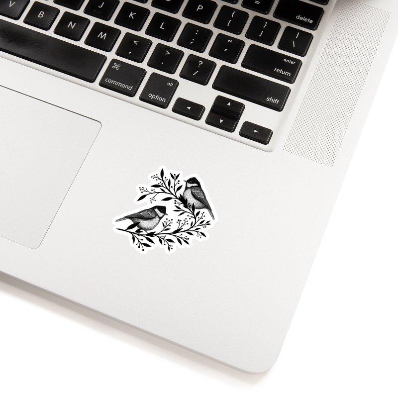 Little Birds Accessories Sticker by Thistle Moon Artist Shop