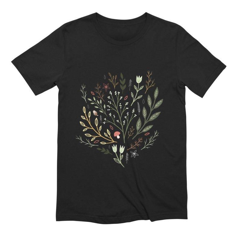 Woodland Walk Men's Extra Soft T-Shirt by Thistle Moon Artist Shop