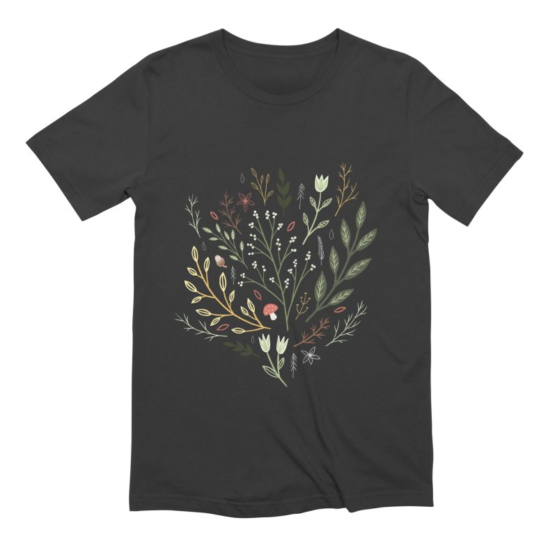 Woodland Walk Men's Extra Soft T-Shirt by Thistle Moon Artist Shop