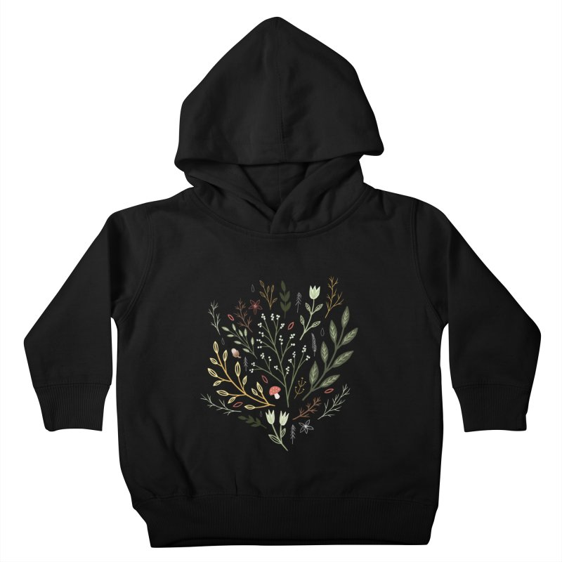 Woodland Walk Kids Toddler Pullover Hoody by Thistle Moon Artist Shop