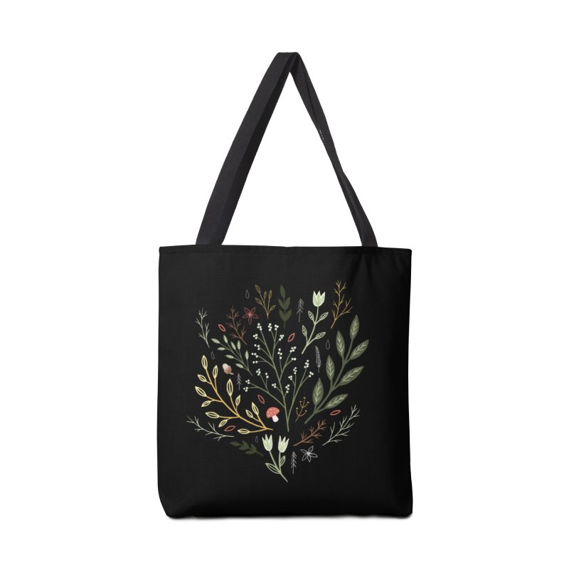 Woodland Walk Accessories Tote Bag Bag by Thistle Moon Artist Shop