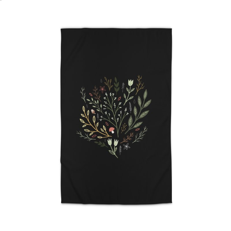 Woodland Walk Home Rug by Thistle Moon Artist Shop