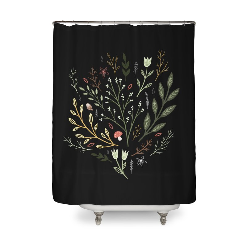 Woodland Walk Home Shower Curtain by Thistle Moon Artist Shop