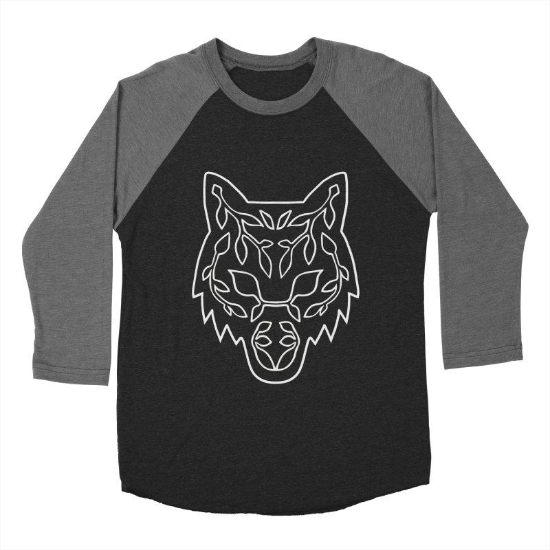 Lupine Men's Baseball Triblend Longsleeve T-Shirt by Thistle Moon Artist Shop