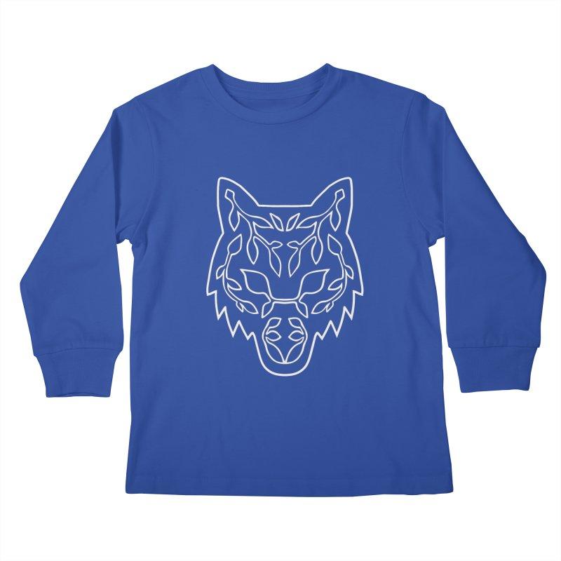 Lupine Kids Longsleeve T-Shirt by Thistle Moon Artist Shop