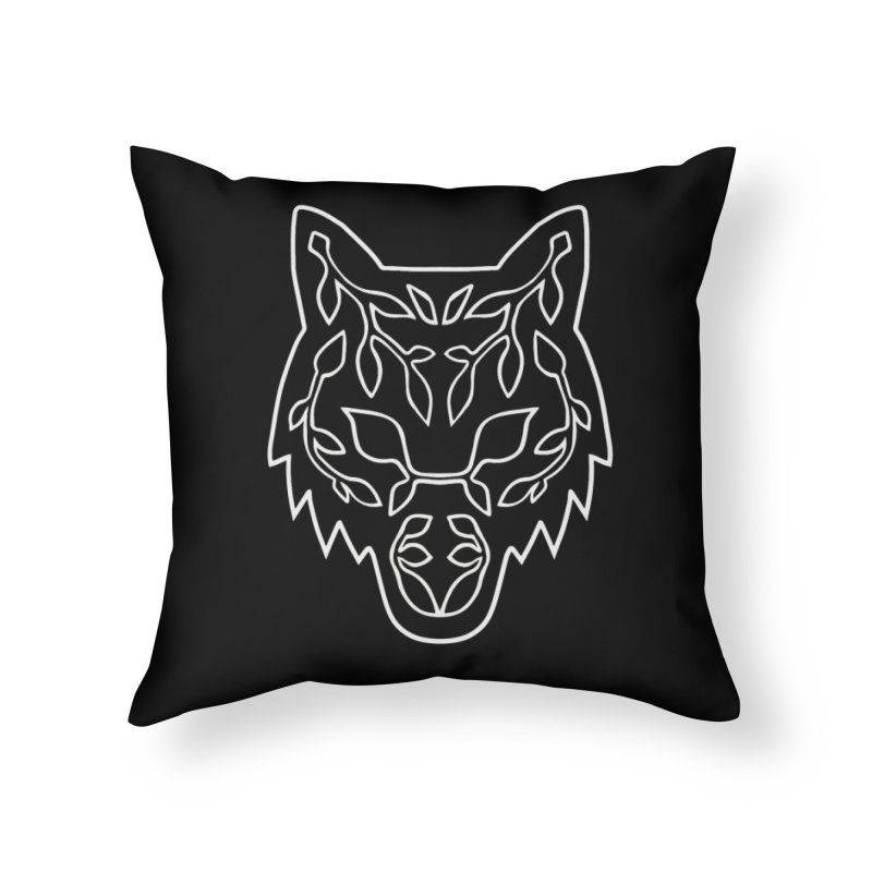 Lupine Home Throw Pillow by Thistle Moon Artist Shop