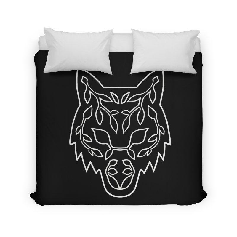 Lupine Home Duvet by Thistle Moon Artist Shop