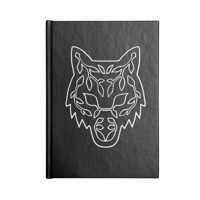 Lupine Accessories Lined Journal Notebook by Thistle Moon Artist Shop