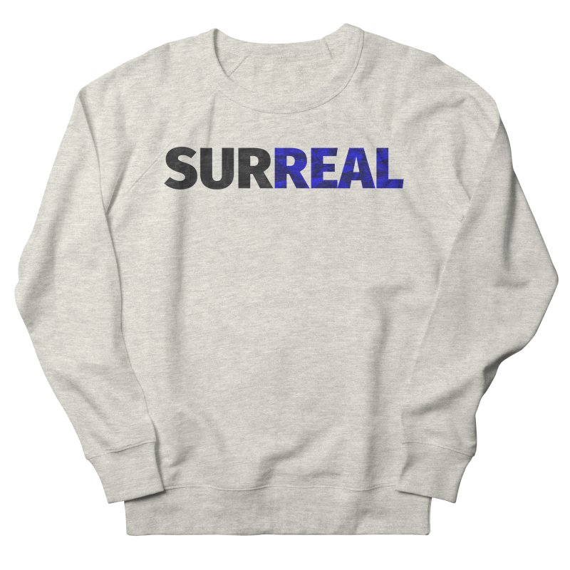 SURREAL Men's French Terry Sweatshirt by thomaskeedesign's Artist Shop