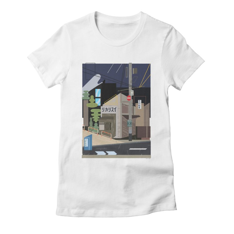 Japan Still Life 002 | Bonobo Women's Fitted T-Shirt by TK's Shop