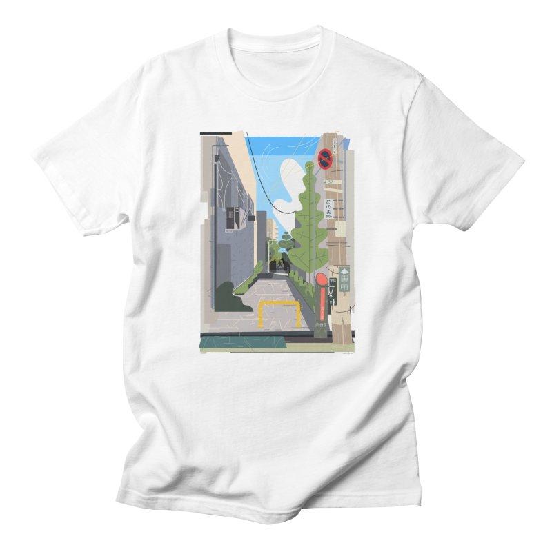 Japan Still Life 003 | 路地 Men's T-Shirt by TK's Shop