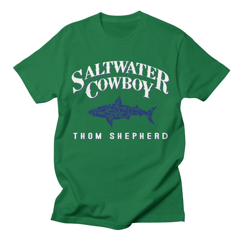Saltwater Cowboy Men's T-Shirt by Thom and Coley's Artist Shop