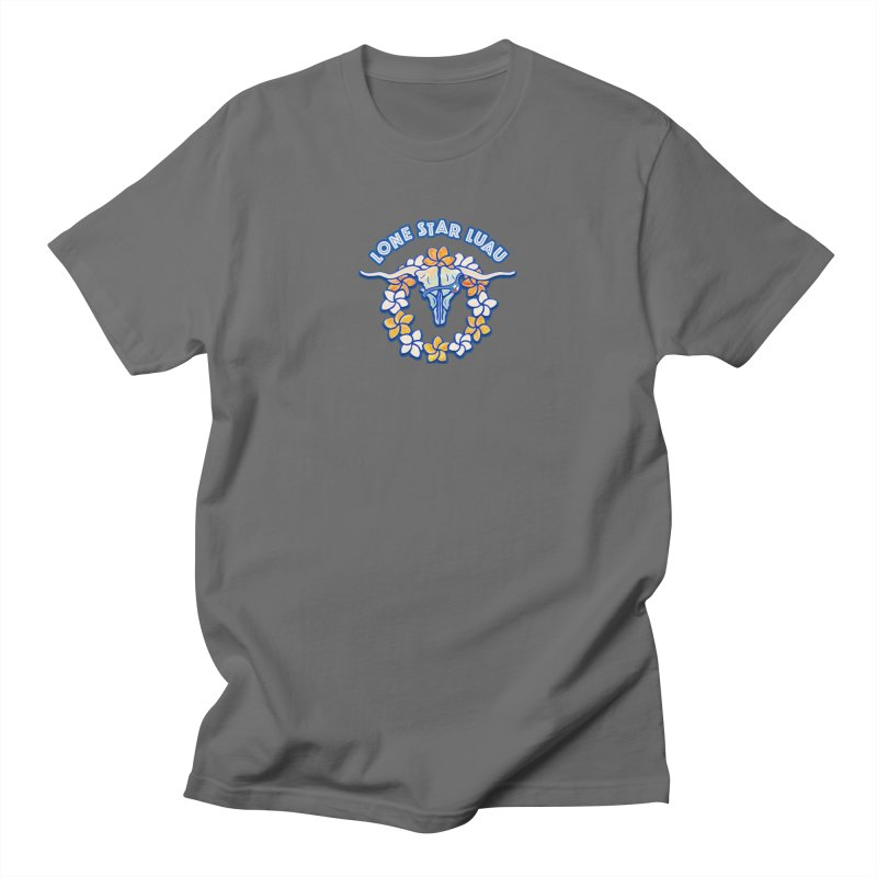 Lone Star Luau Men's T-Shirt by Thom and Coley's Artist Shop