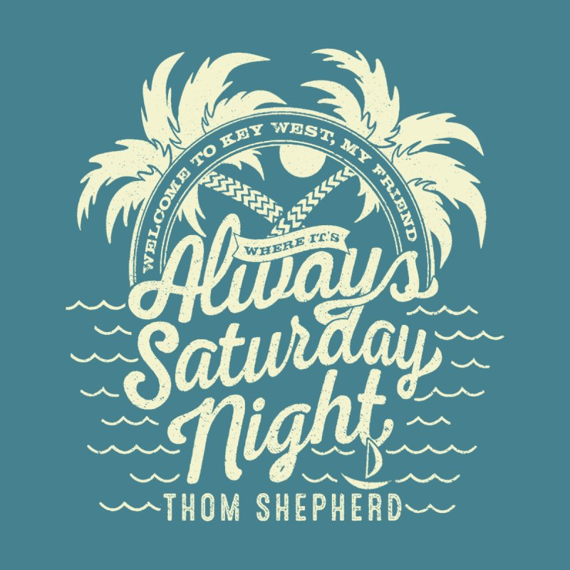 Always Saturday Night - Cream logo Women's Longsleeve T-Shirt by Thom and Coley's Artist Shop