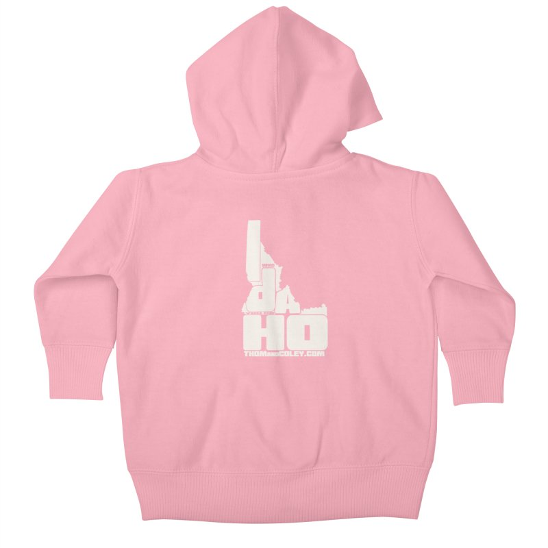 I-Da-Ho Kids Baby Zip-Up Hoody by Thom and Coley's Artist Shop