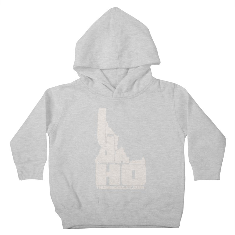 I-Da-Ho Kids Toddler Pullover Hoody by Thom and Coley's Artist Shop