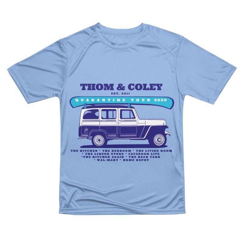 Quarantine Tour Men's T-Shirt by Thom and Coley's Artist Shop