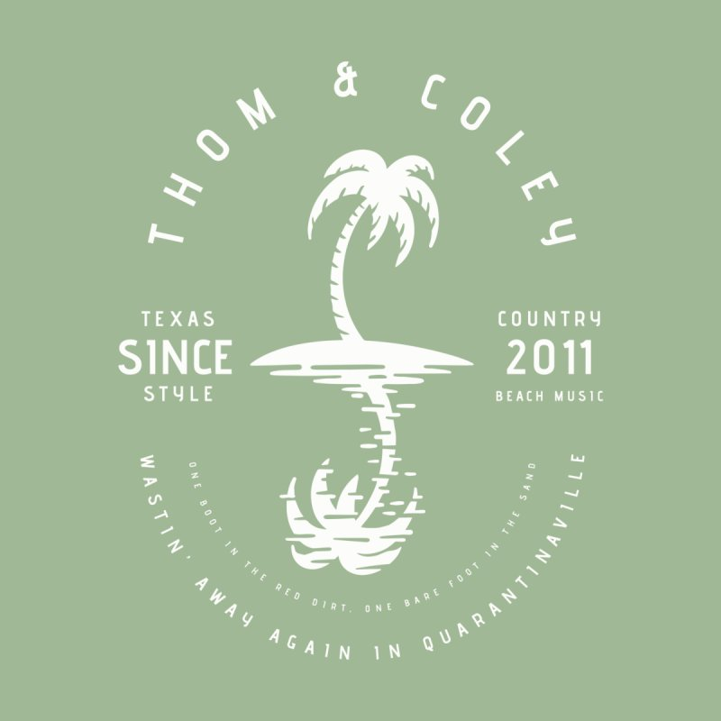 Thom & Coley Palm Tree Men's T-Shirt by Thom and Coley's Artist Shop