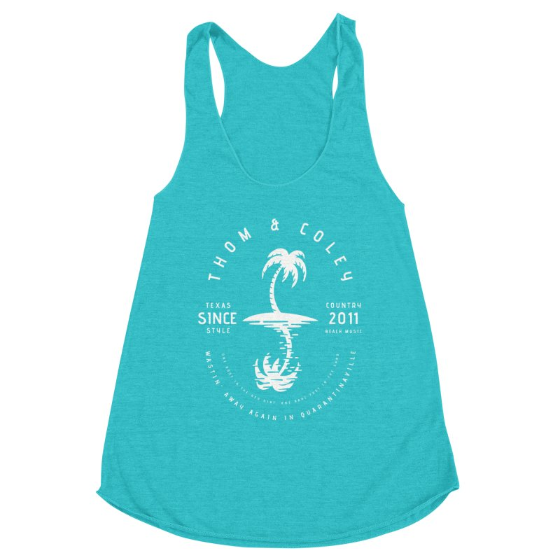 Thom & Coley Palm Tree Women's Tank by Thom and Coley's Artist Shop