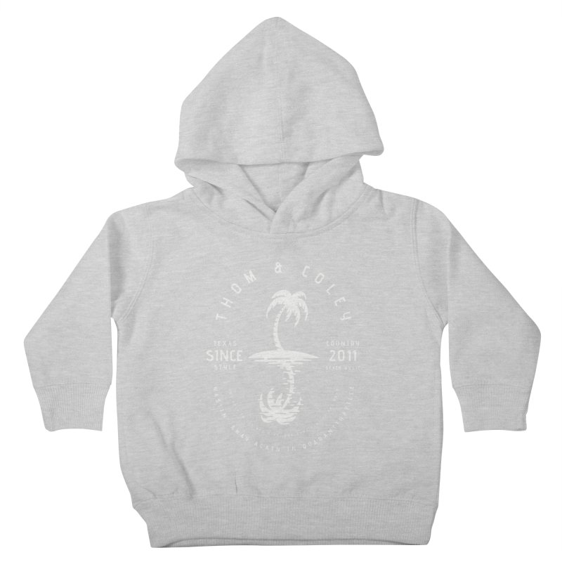 Thom & Coley Palm Tree Kids Toddler Pullover Hoody by Thom and Coley's Artist Shop