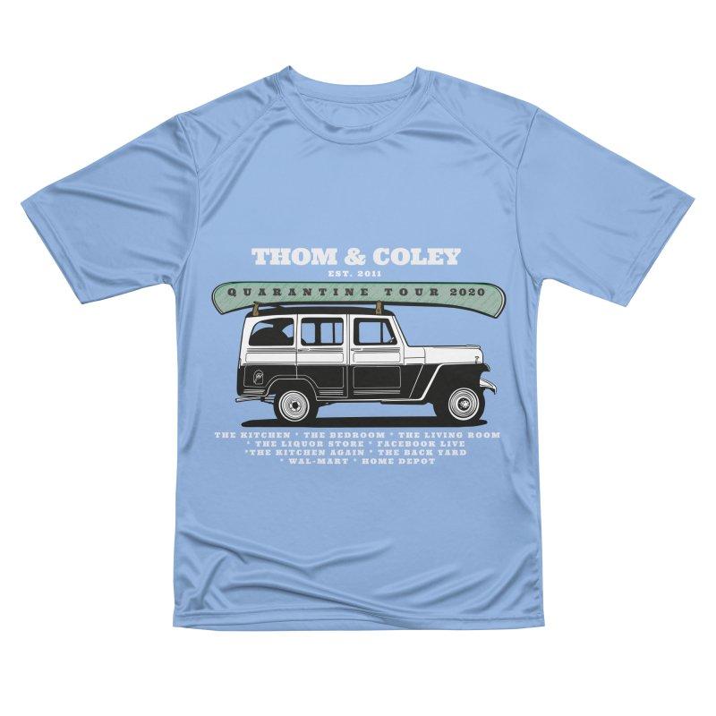 Thom & Coley Quarantine Tour Men's T-Shirt by Thom and Coley's Artist Shop