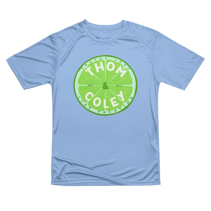 Thom & Coley Lime Men's T-Shirt by Thom and Coley's Artist Shop