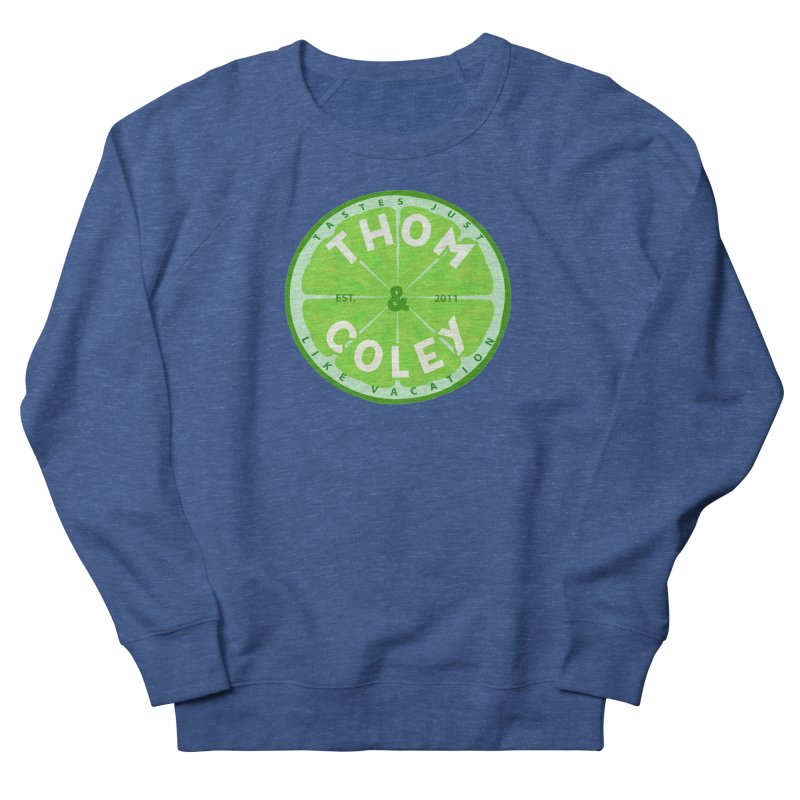 Thom & Coley Lime Men's Sweatshirt by Thom and Coley's Artist Shop