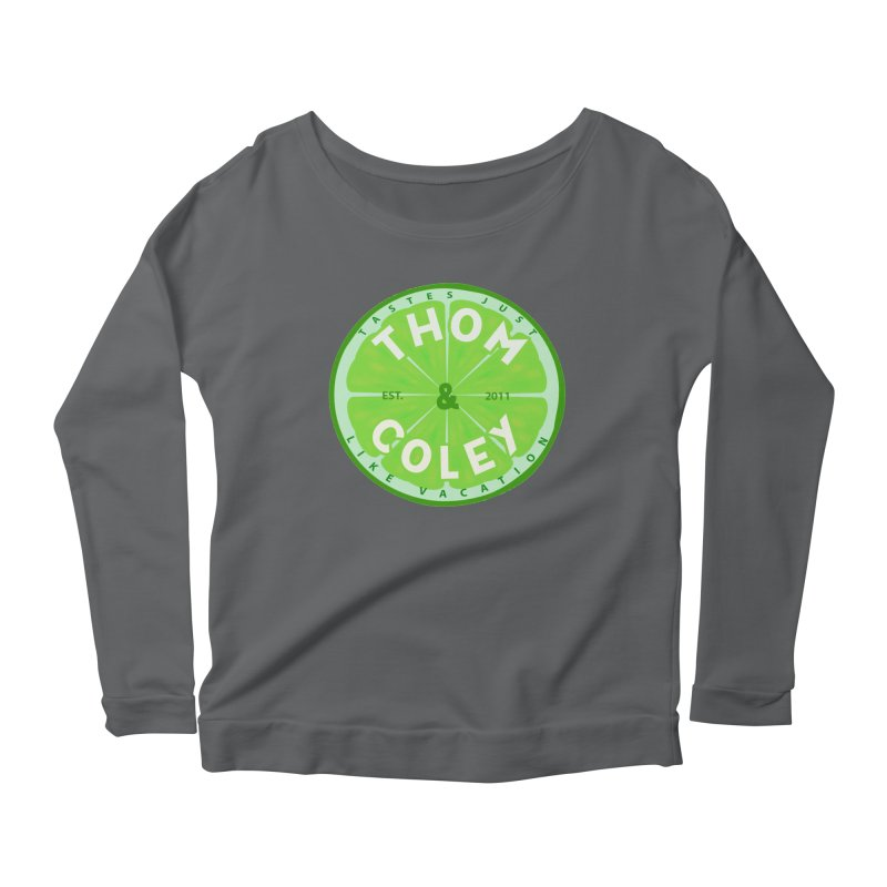 Thom & Coley Lime Women's Longsleeve T-Shirt by Thom and Coley's Artist Shop