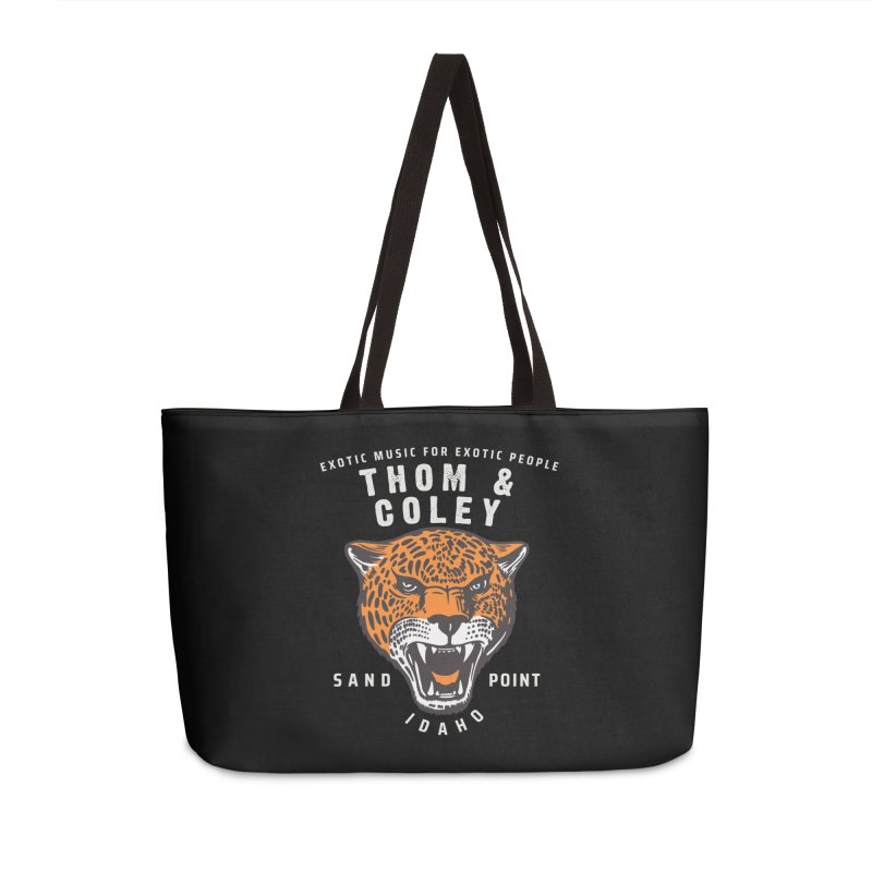 Exotic Music For Exotic People Accessories Bag by Thom and Coley's Artist Shop