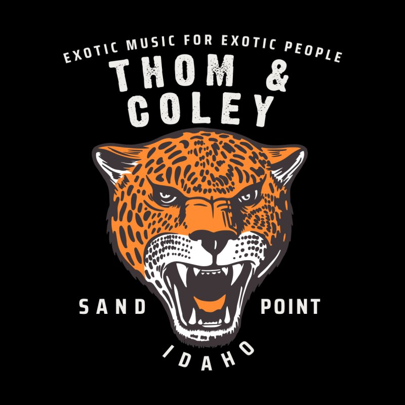 Exotic Music For Exotic People Men's T-Shirt by Thom and Coley's Artist Shop