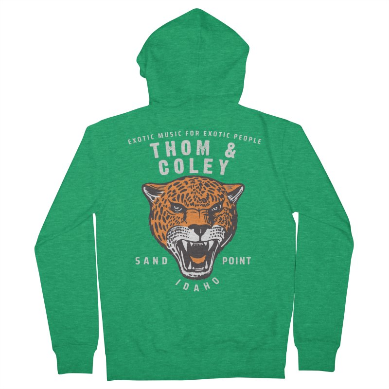 Exotic Music For Exotic People Men's Zip-Up Hoody by Thom and Coley's Artist Shop