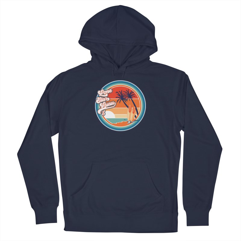 Lone Star Luau Retro Men's Pullover Hoody by Thom and Coley's Artist Shop