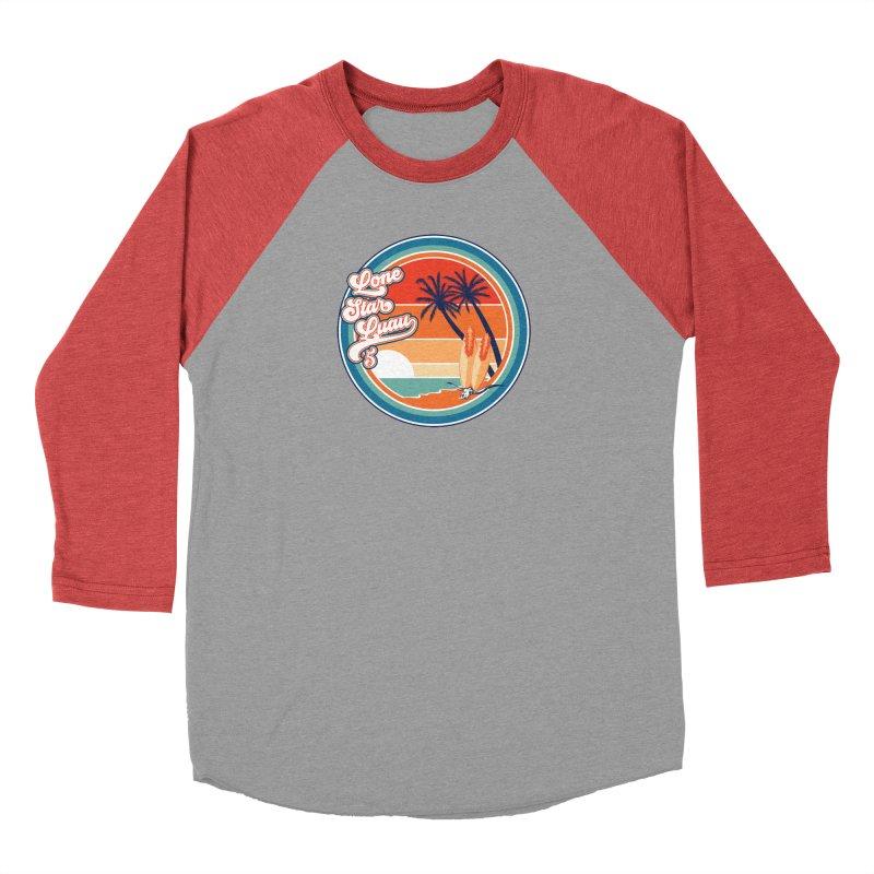 Lone Star Luau Retro Men's Longsleeve T-Shirt by Thom and Coley's Artist Shop