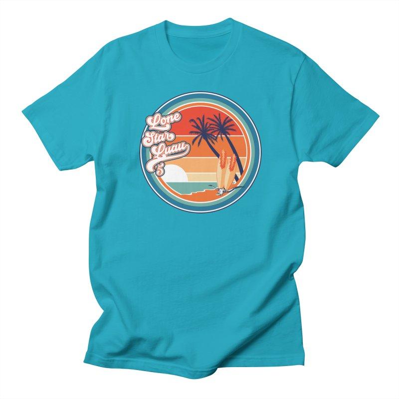 Lone Star Luau Retro Men's T-Shirt by Thom and Coley's Artist Shop