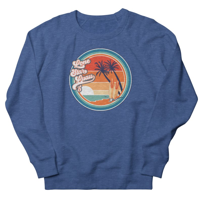 Lone Star Luau Retro Men's Sweatshirt by Thom and Coley's Artist Shop