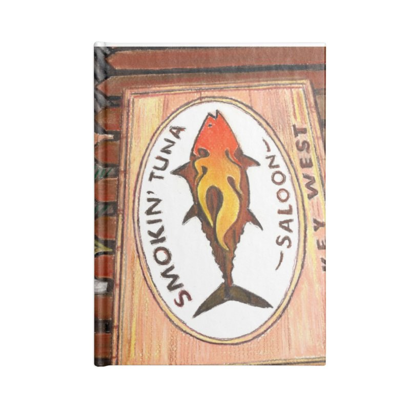 Smokin' Tuna Accessories Notebook by Thom and Coley's Artist Shop
