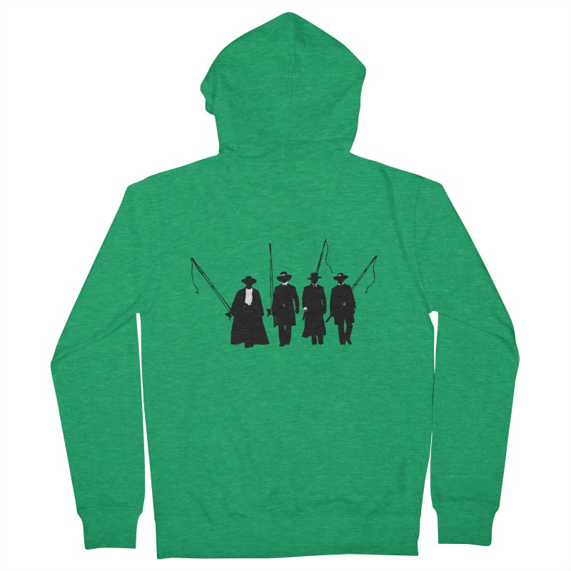 Goin' Fishing Men's Zip-Up Hoody by Thom and Coley's Artist Shop