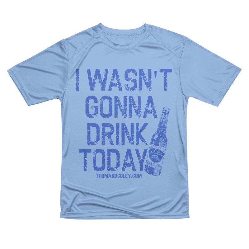 I Wasn't Gonna Drink Today Masks and More Men's T-Shirt by Thom and Coley's Artist Shop