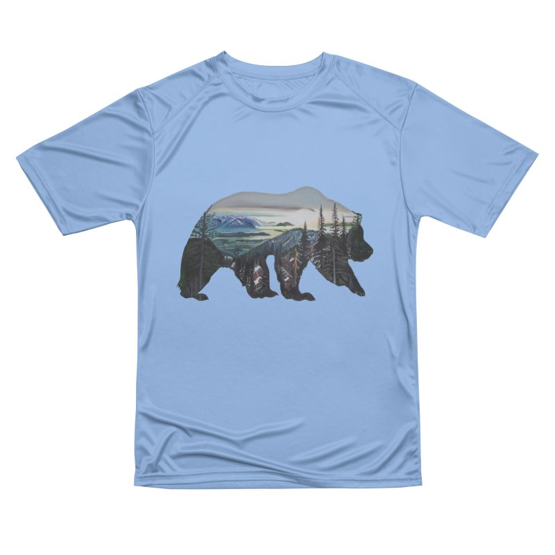 Bear Sunrise Men's T-Shirt by Thom and Coley's Artist Shop