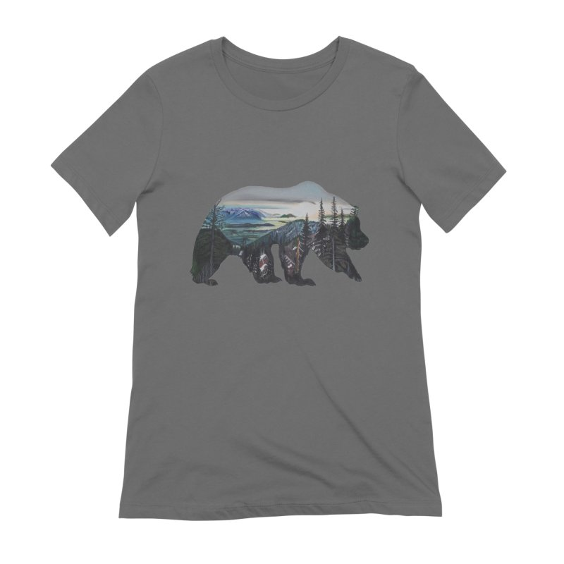 Bear Sunrise Women's T-Shirt by Thom and Coley's Artist Shop