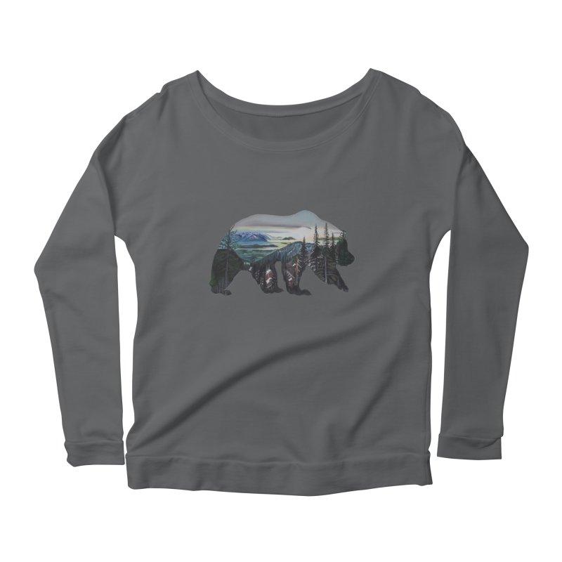 Bear Sunrise Women's Longsleeve T-Shirt by Thom and Coley's Artist Shop