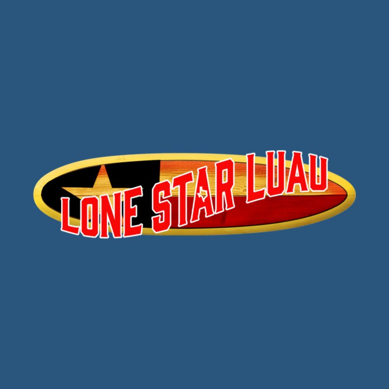 Lone Star Luau Surfboard Men's T-Shirt by Thom and Coley's Artist Shop