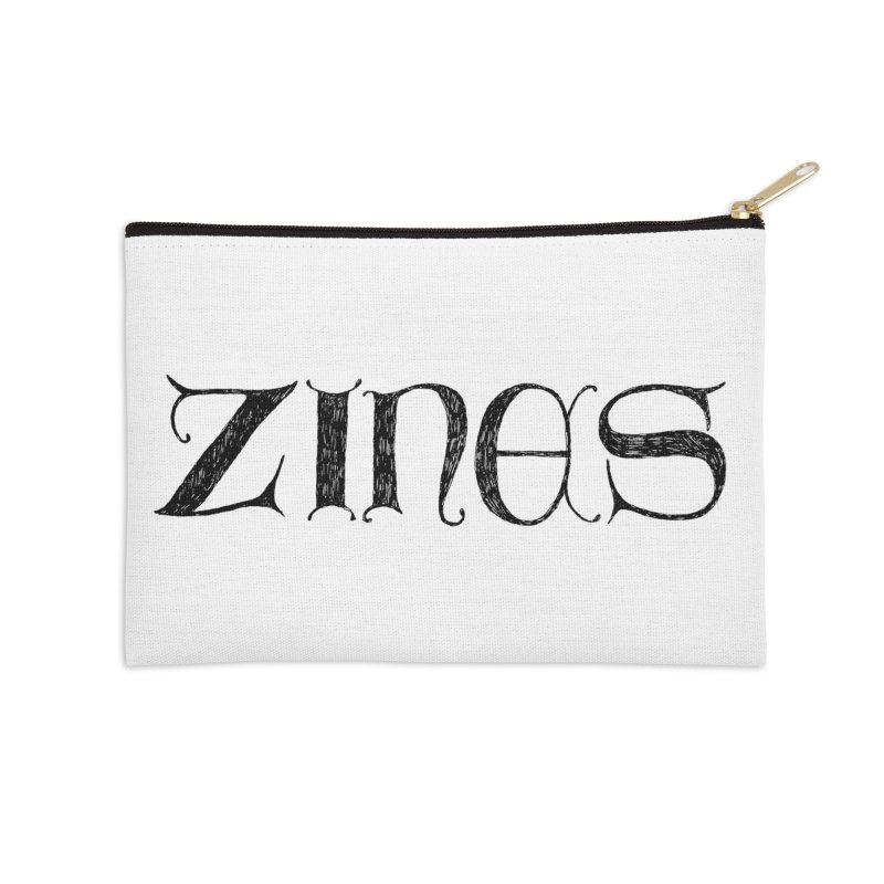 Ye Olde Zines Accessories Zip Pouch by SHOP THORAZOS TSHIRTS