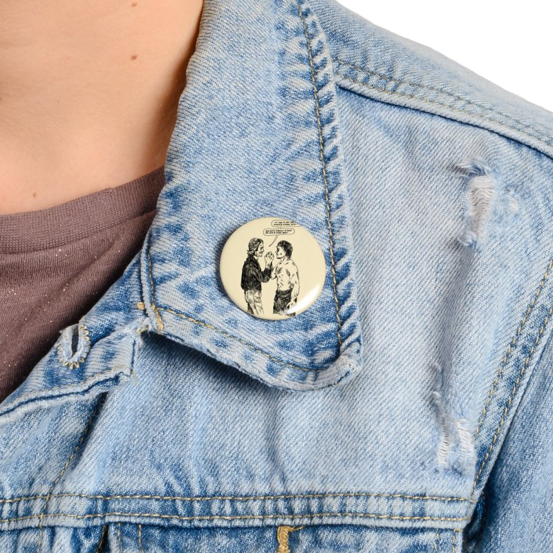 Pain Don't Hurt Accessories Button by SHOP THORAZOS TSHIRTS