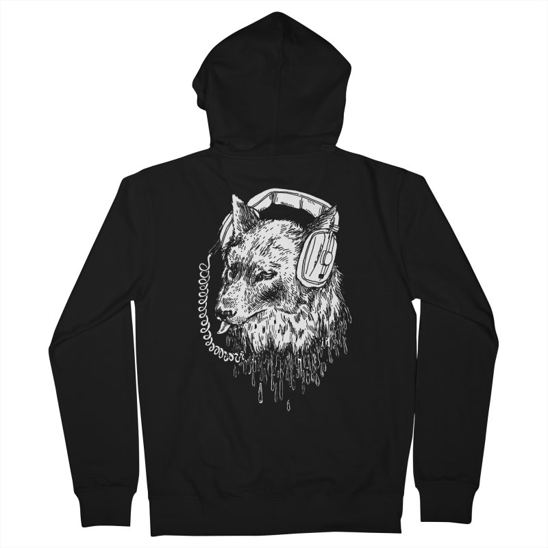 Boiled Leather Audio Hour Women's Zip-Up Hoody by SHOP THORAZOS TSHIRTS