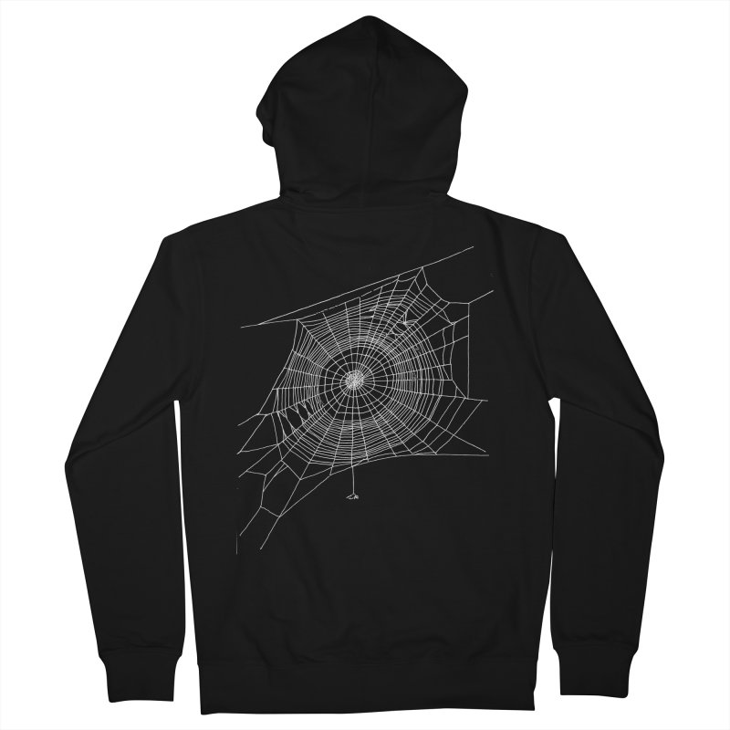 Spider's Web Men's Zip-Up Hoody by SHOP THORAZOS TSHIRTS