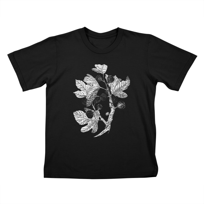 Fig Branch Kids T-Shirt by SHOP THORAZOS TSHIRTS