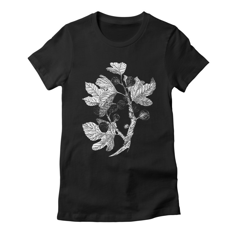 Fig Branch Women's Fitted T-Shirt by SHOP THORAZOS TSHIRTS