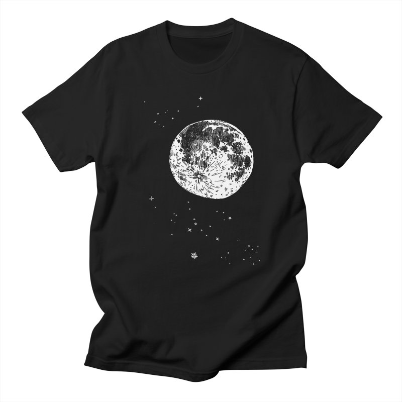 Full Moon Men's T-Shirt by SHOP THORAZOS TSHIRTS