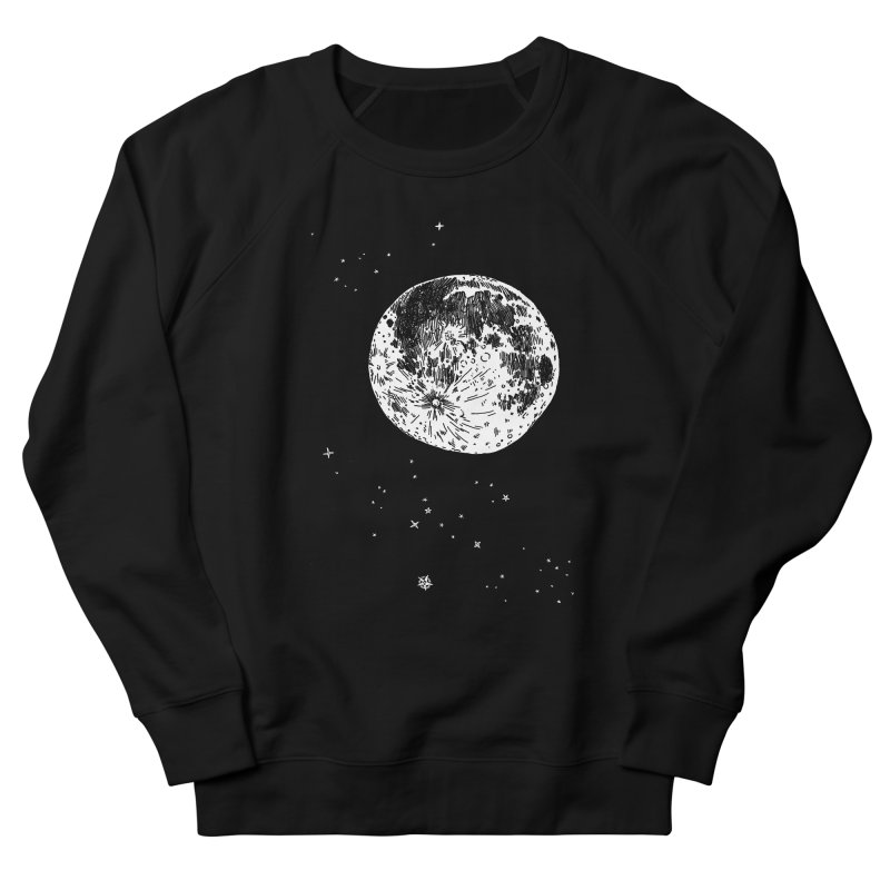 Full Moon Men's French Terry Sweatshirt by SHOP THORAZOS TSHIRTS